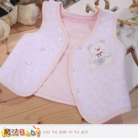魔法Baby~嬰兒背心外套 專櫃款正品鋪棉薄款 ~K44157