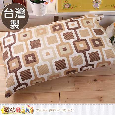 枕頭套 台灣製高級枕頭套2個一組 魔法Baby id61_a005