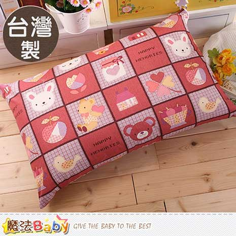 枕頭套 台灣製高級枕頭套2個一組 魔法Baby id61_a009