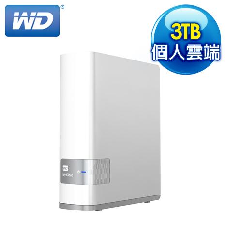 WD 威騰 My Cloud 3TB NAS 網路儲存伺服器