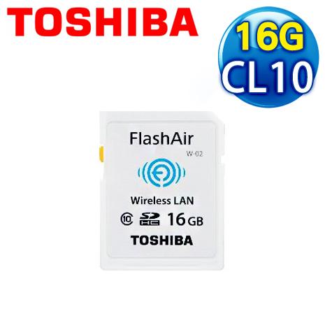 Toshiba 東芝 16G FlashAir SDHC(Class 10) 記憶卡
