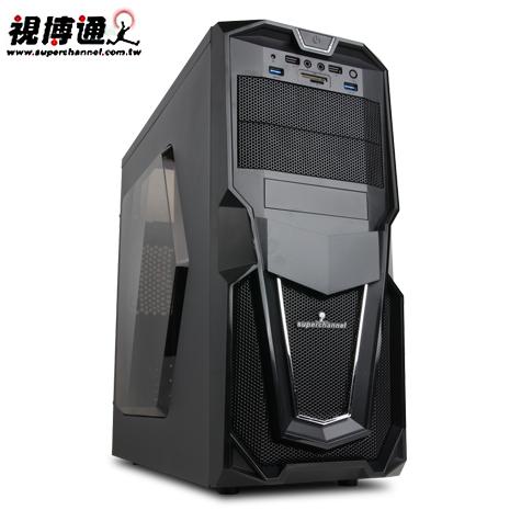 視博通 降龍者 USB3.0 黑2大 電腦機殼-數位筆電.列印.DIY-myfone購物