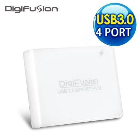 伽利略 4Port mini USB3.0 HUB 擴充卡《白色》