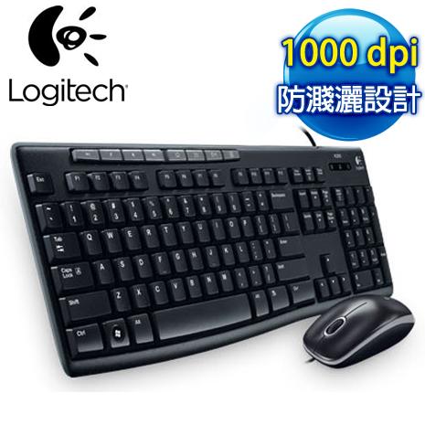 羅技 MK200 USB鍵盤滑鼠組