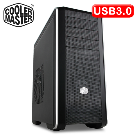 Cooler Master CM690 III/網孔版 黑3大 電腦機殼-數位筆電.列印.DIY-myfone購物