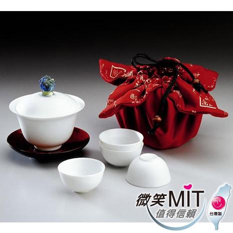 【微笑MIT】 存仁堂/存仁堂藝瓷-喜事來蓋杯組