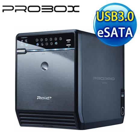PRORAID 3.5吋 USB3.0 + eSATA 4層陣列外接盒