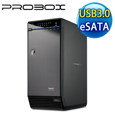 PRORAID 3.5吋 USB3.0 + eSATA 8層陣列外接盒