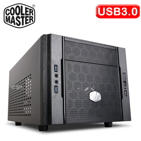 Cooler Master Elite 130 雙U3 黑1大 電腦機殼