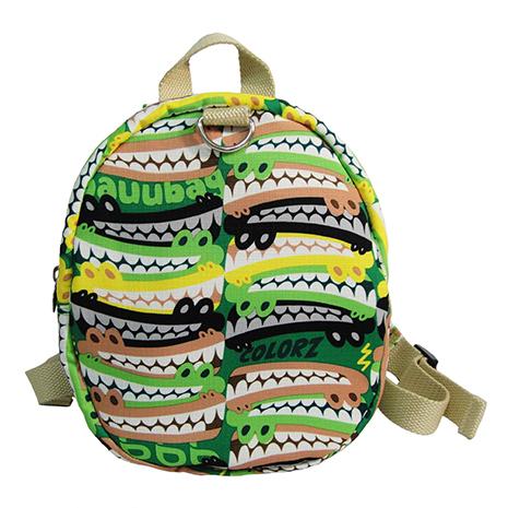 【微笑MIT】Bebe/BAUUBAG-貝貝彩色鱷魚後背包 S130301AA(綠色)