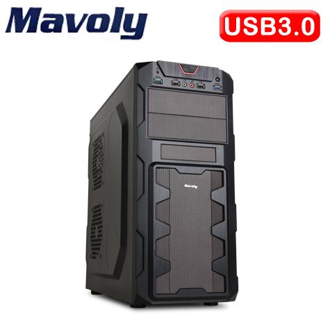 Mavoly 松聖 榴槤 SG-XT USB3.0 黑2大 電腦機殼