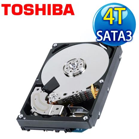 Toshiba 東芝 4TB 128M 3.5吋 SATA3 雲端企業硬碟(MC04ACA400E)