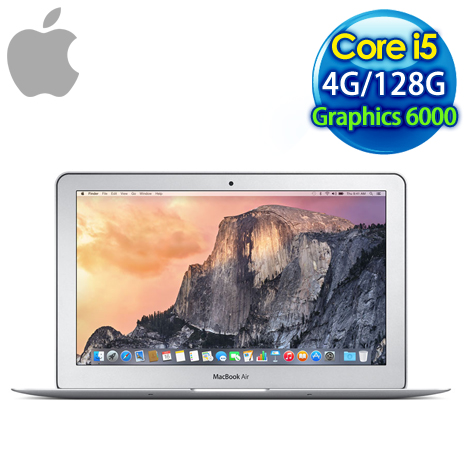 Apple MacBook Air MJVM2TA/A 筆記型電腦(11.6吋/i5/128G SSD/4G)