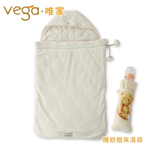 Vega唯家 奈米遠紅外線嬰兒睡袋(米白)
