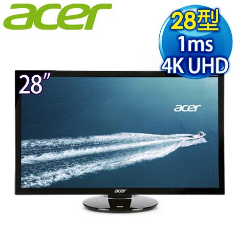 Acer 宏碁 CB280HK 28型 4K2K 高畫質 LED 液晶螢幕