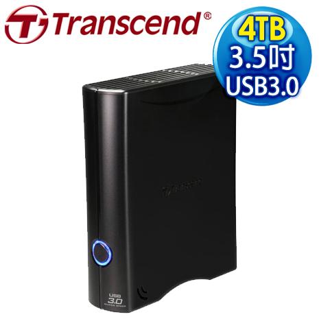 Transcend 創見 SJ35T3 4TB USB3.0 3.5吋 外接硬碟