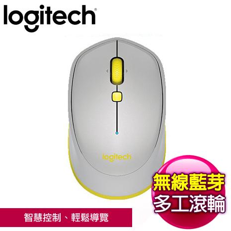 Logitech 羅技 M337 藍芽滑鼠《灰》
