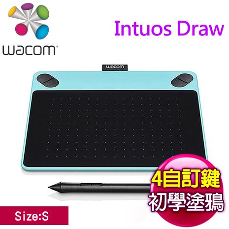Wacom Intuos Draw 塗鴉創意繪圖板 (S)《時尚藍》