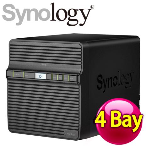 Synology 群暉 DiskStation DS416j 4Bay NAS 網路儲存伺服器-3C電腦週邊-myfone購物
