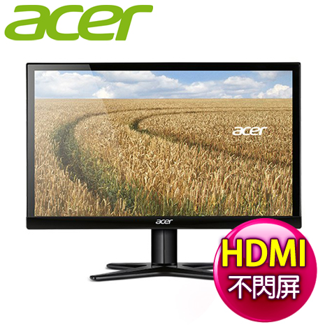 Acer 宏碁 G227HQL(Tbi) 22型 不閃屏濾藍光護眼液晶螢幕