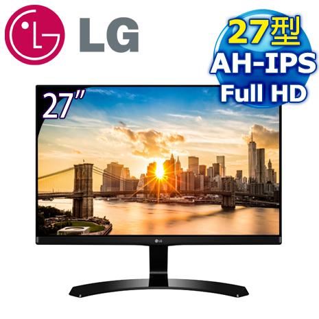 LG 樂金 27MP68VQ-P 27型 Full HD AH-IPS 護眼電競螢幕