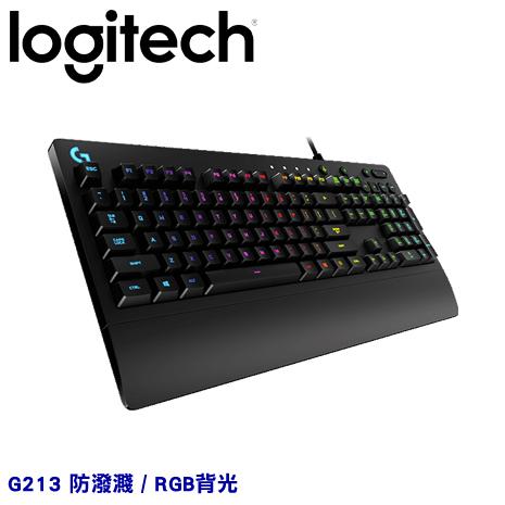 Logitech 羅技 G213 PRODIGY RGB 遊戲鍵盤