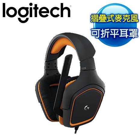 Logitech 羅技 G231 PRODIGY 遊戲雙耳麥