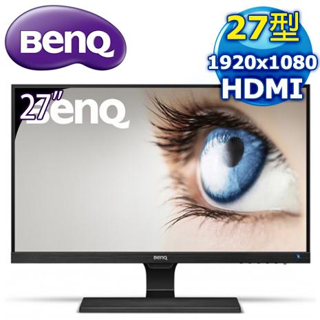 福利品》BenQ 明基 EW2775ZH 27型 光智慧不閃屏 護眼螢幕-數位筆電.列印.DIY-myfone購物