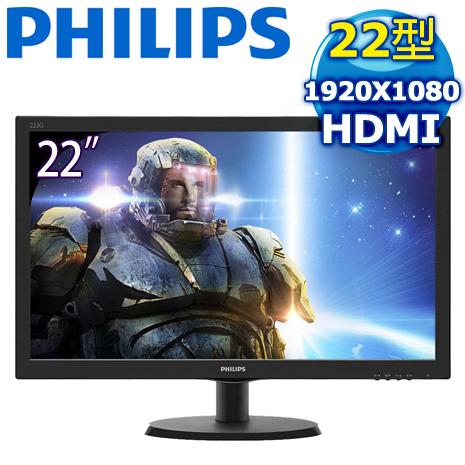PHILIPS 飛利浦 223G5LHSB 22型 液晶遊戲顯示器螢幕