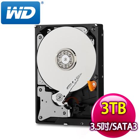 WD 威騰 Purple 3TB 3.5吋 5400轉 64M快取 SATA3紫標硬碟WD30PURZ