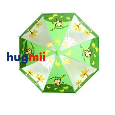 【Hugmii】童趣造型兒童雨傘 猴子