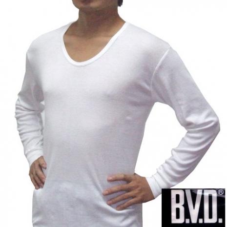 【BVD】時尚型男厚棉U領衛生衣~3件組