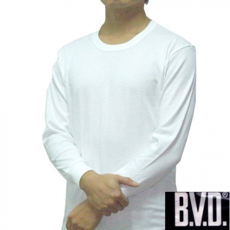 【BVD】時尚型男厚棉圓領衛生衣~3件組