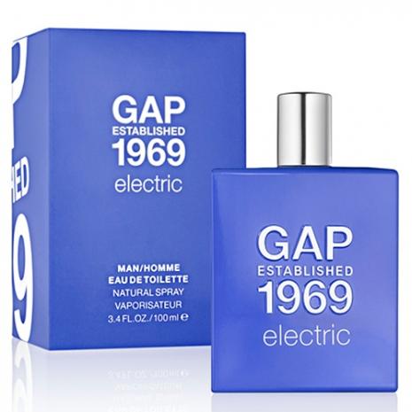 【即期品】GAP 1969 酷炫男性淡香水限量版(100ml)