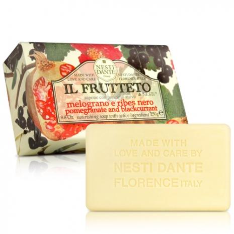 (任選)Nesti Dante 義大利手工皂-天然鮮果系列-石榴黑醋栗皂(250g)