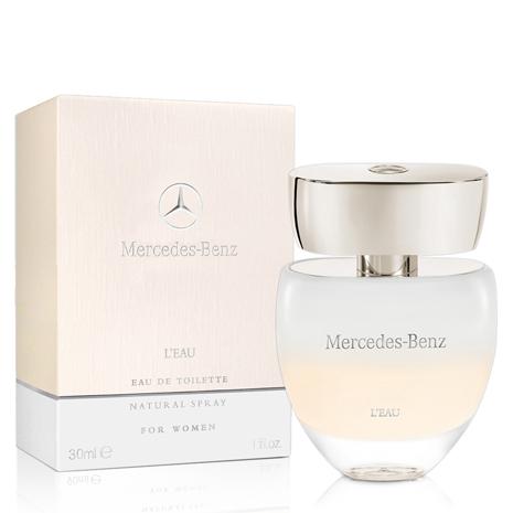 Mercedes Benz 賓士白色浪漫女性淡香水(30ml)-送品牌隨機針管&紙袋