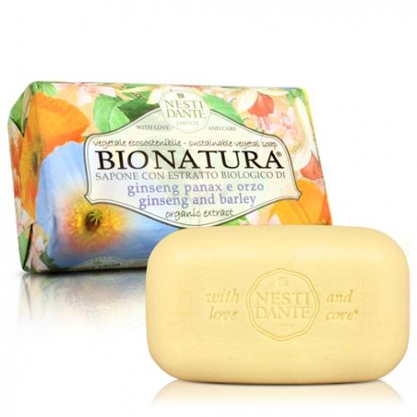 (任選)Nesti Dante 義大利手工皂-天然純植系列-純植人蔘大麥皂(250g)