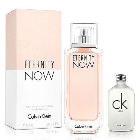 CK 即刻永恆女性淡香精(50ml)-送品牌小香
