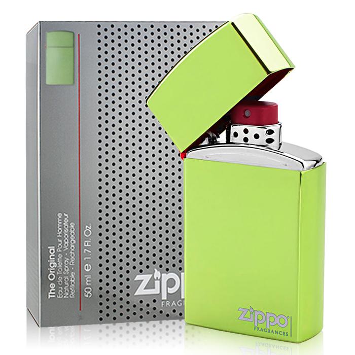 【即期品】Zippo 同名男性淡香水-迷幻綠 (50ml)