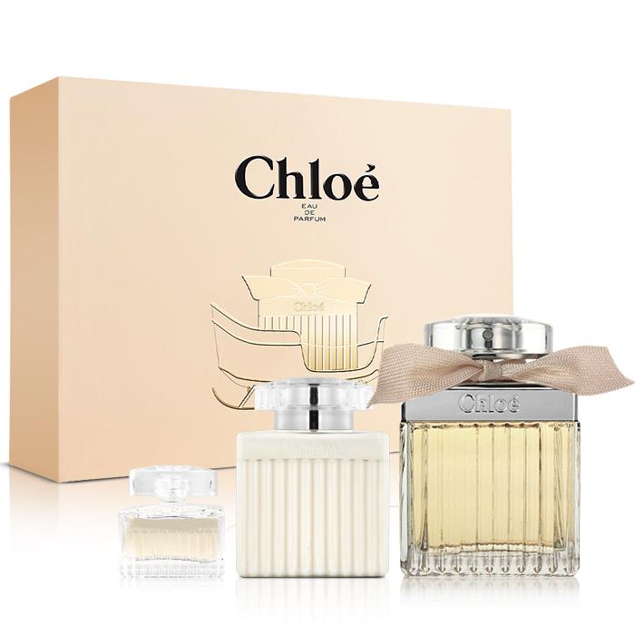 Chloe 同名2016幸福雪橇限量禮盒(淡香精75ml+身體乳100ml+小香5ml)-送品牌紙袋