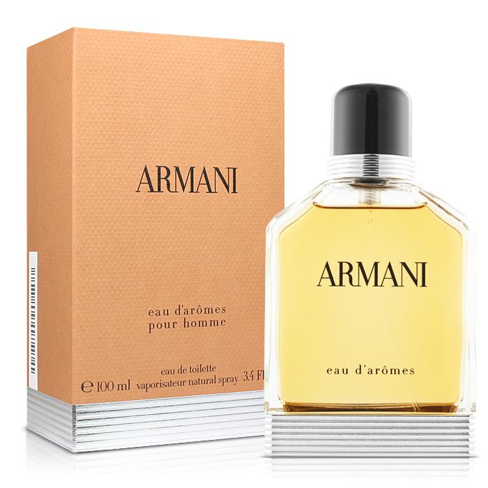 GIORGIO ARMANI 新Armani 紳士男性淡香水(100ml)