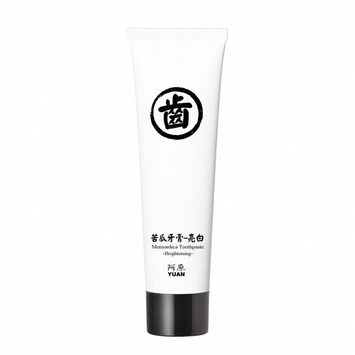阿原肥皂 苦瓜牙膏-亮白(75g)X2入