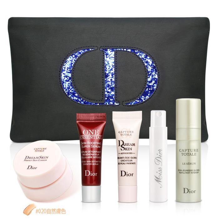 Dior迪奧 超級夢幻彩妝保養6件組