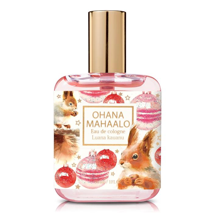 OHANA MAHAALO 松鼠啵啵輕香水(30ml)