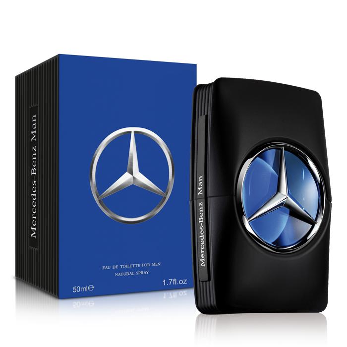 Mercedes Benz 賓士 王者之星男性淡香水(50ml)