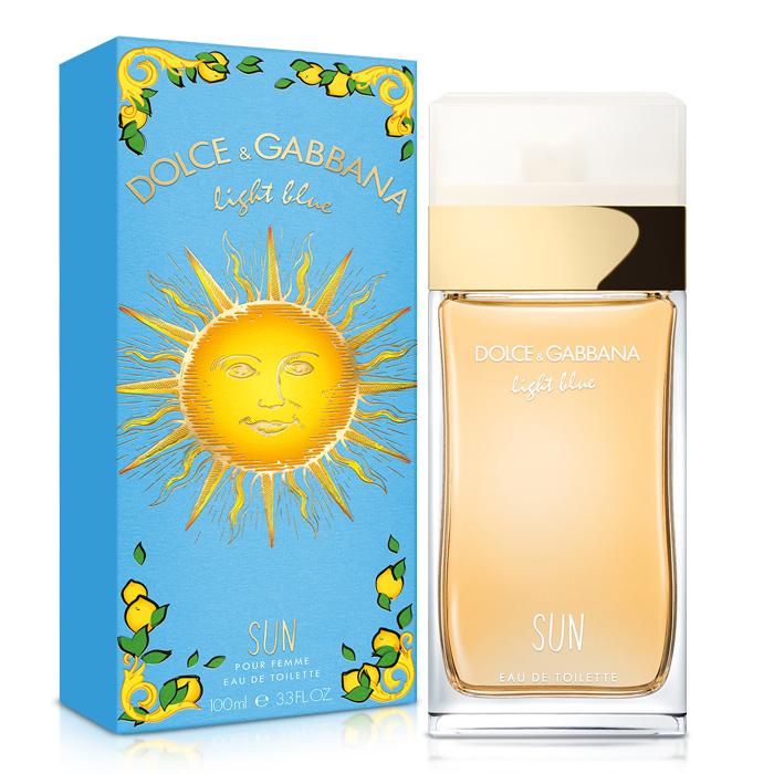 D&G Light Blue Sun Woman 陽光夏日女性淡香水(100ml)