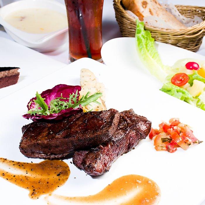 【台北】星辰牛排-米其林級單人套餐(2張)