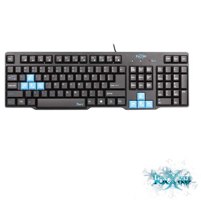 【FOXXRAY】迅急戰狐電競鍵盤 FXR-BK-06