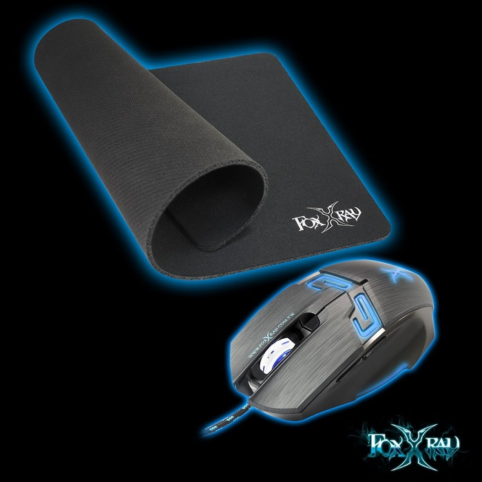 【FOXXRAY】流星獵狐光學電競滑鼠組合包 FXR-BMP-07