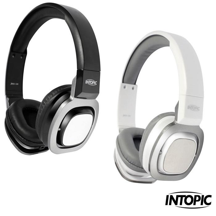 【INTOPIC】頭戴式耳機麥克風 JAZZ-539尊爵黑